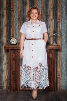 Длинное платье Aira Style 480 белый фото 1