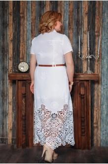 Длинное платье Aira Style 480 белый фото 2