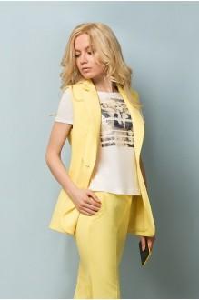 Брючный костюм /комплект Lady Secret 2431 желтый фото 2
