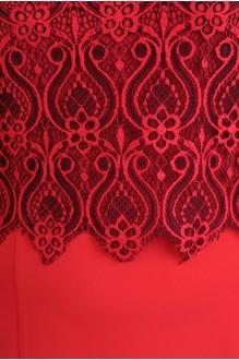 Деловое платье Diomant 989 красный фото 2
