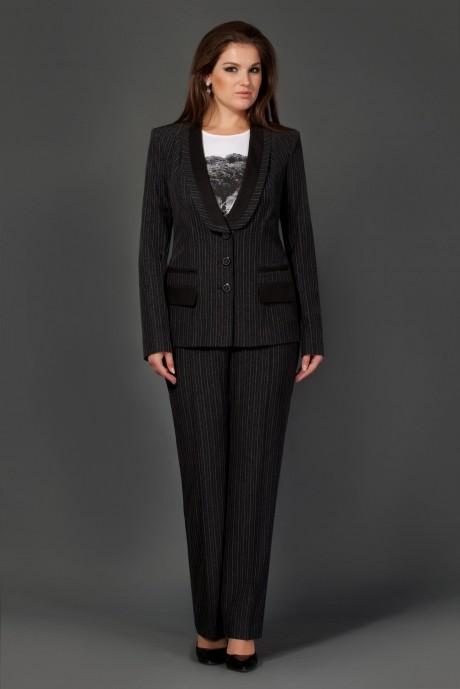 Брючный костюм /комплект Lissana 2138 с синей полоской