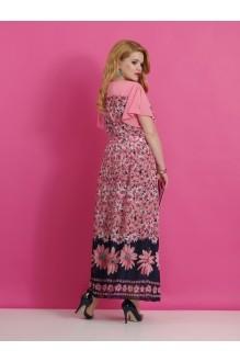 Длинные платья Lissana 2640 (1) розовый фото 2
