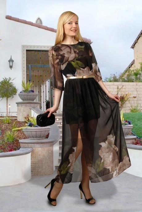 Длинное платье МиА-Мода 707-2
