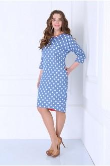 Повседневное платье Matini 3.980 красная окантовка фото 2
