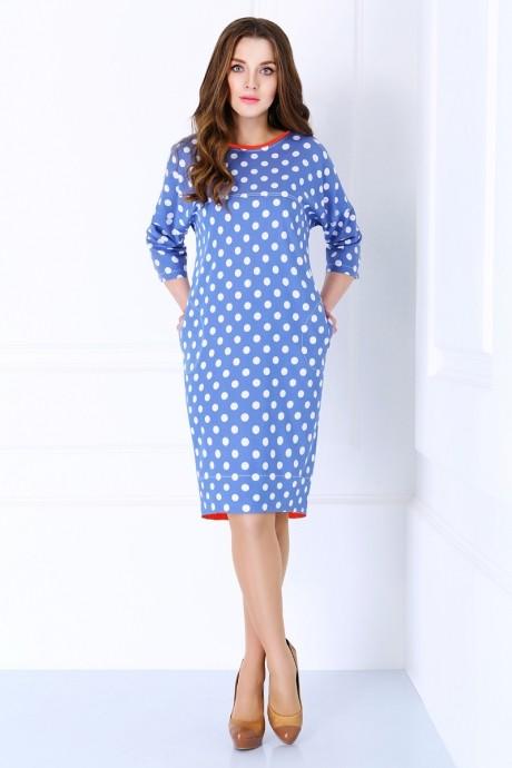 Повседневное платье Matini 3.980 красная окантовка