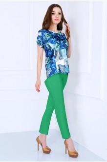 Брючные костюмы /комплекты Matini 1.964 с брюками зелень фото 1