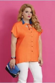Блузки и туники Lissana 2783 оранжевый фото 2