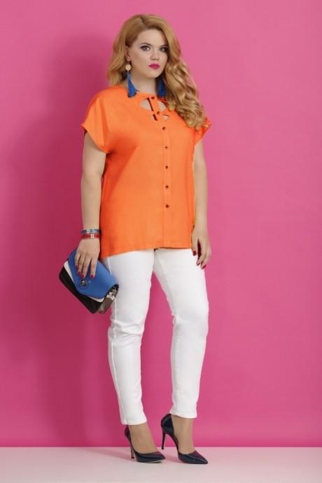 Блузки и туники Lissana 2783 оранжевый