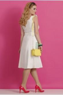 Летнее платье Lissana 1830 белый/красный фото 2