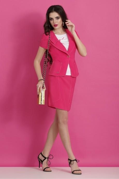 Юбочный костюм /комплект Lissana 2063 малина