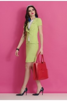 Юбочный костюм /комплект Lissana 2063 салат фото 1