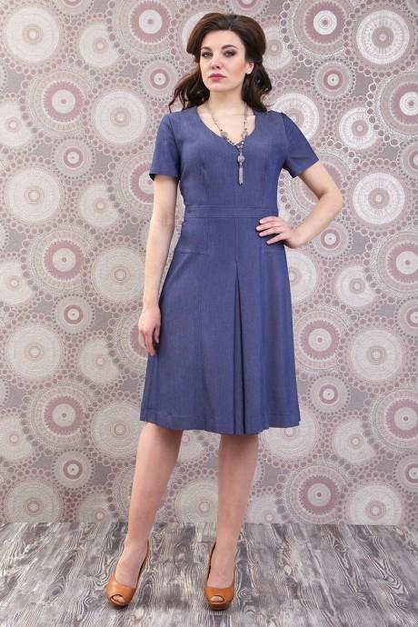 Повседневное платье Fashion Lux 949 джинс