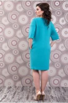 Повседневное платье Fashion Lux 809 бирюза фото 2