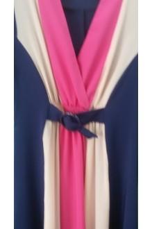 Длинное платье Diomant 990 коралл фото 2