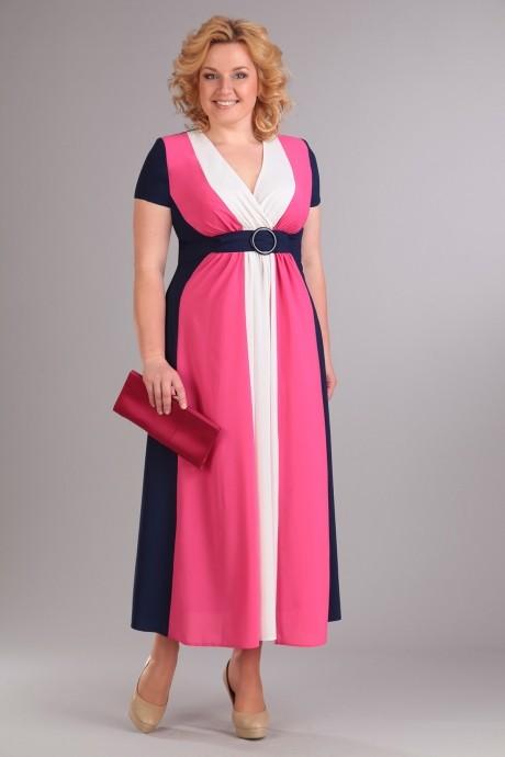 Длинное платье Diomant 990 коралл