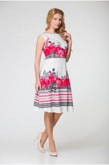 Летнее платье ЮРС 16-590 кр фото 1