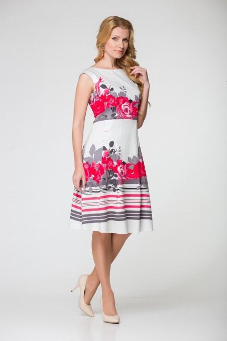 Летнее платье ЮРС 16-590 кр