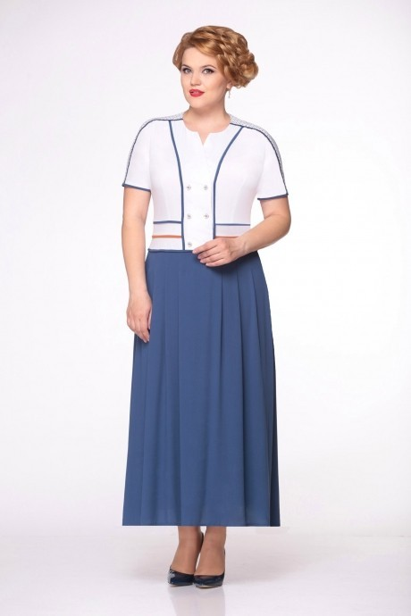 Длинное платье Runella 1169