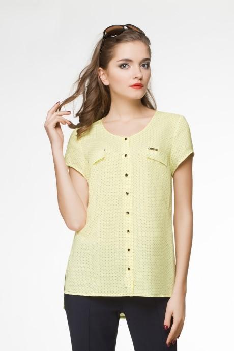 Блузки и туники LeNata 11562-2 желтый