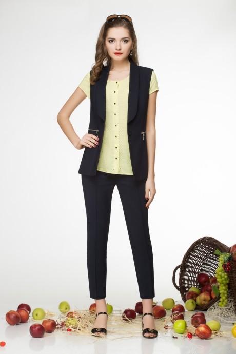 Брючный костюм /комплект LeNata 31649-1 желтый