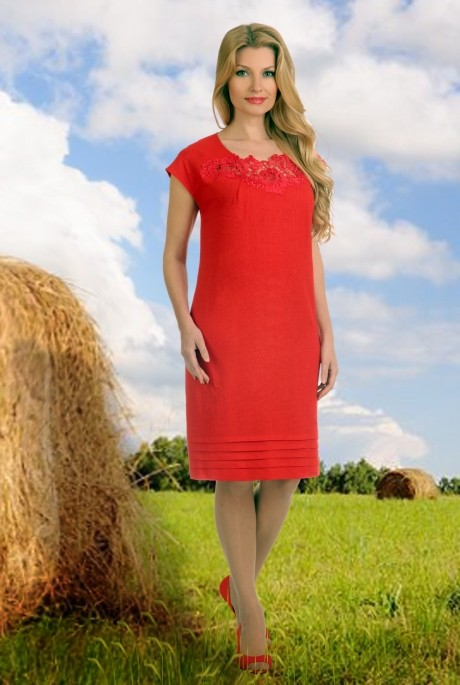 Летние платья Мишель Стиль 503 красный