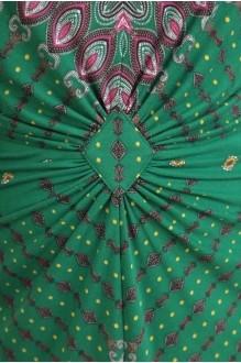 Летнее платье Diomant 1087 зеленый/терракот фото 3