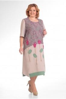 Повседневные платья Надин-Н 1276 (2) сирень фото 1
