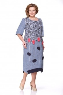 Повседневное платье Надин-Н 1276 джинс фото 1