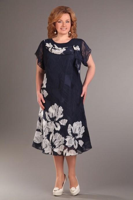 Вечернее платье Асолия 2215 синий