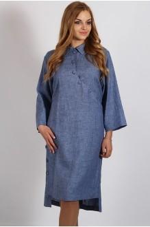 Повседневное платье Надин-Н 1271 джинс фото 1