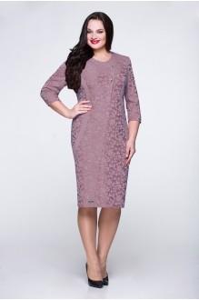 Вечерние платья Надин-Н 1254 (2) серо-сиреневый фото 1