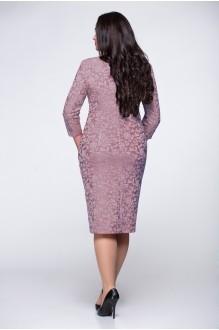 Вечерние платья Надин-Н 1254 (2) серо-сиреневый фото 2