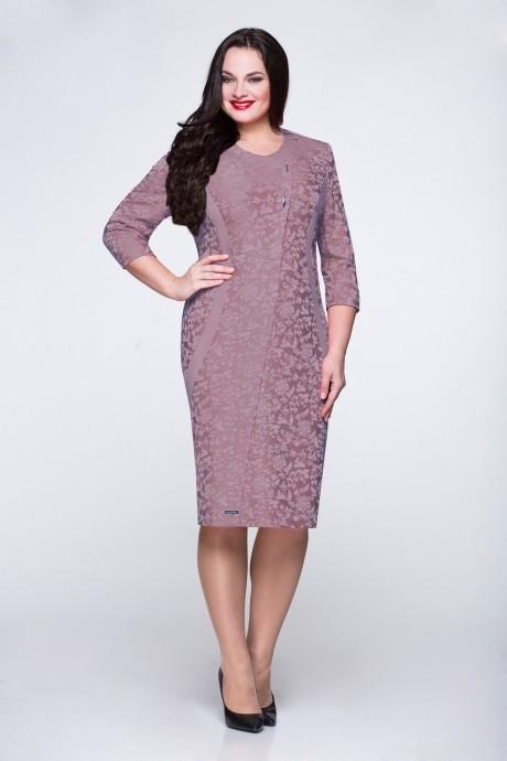 Вечерние платья Надин-Н 1254 (2) серо-сиреневый
