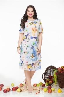 Летнее платье LeNata 11548 цветы фото 1