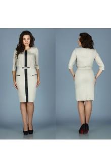 Деловое платье Fantazia Mod RX-2642 бежевый фото 1