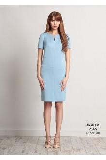Летнее платье Bazalini 2345 голубой фото 1