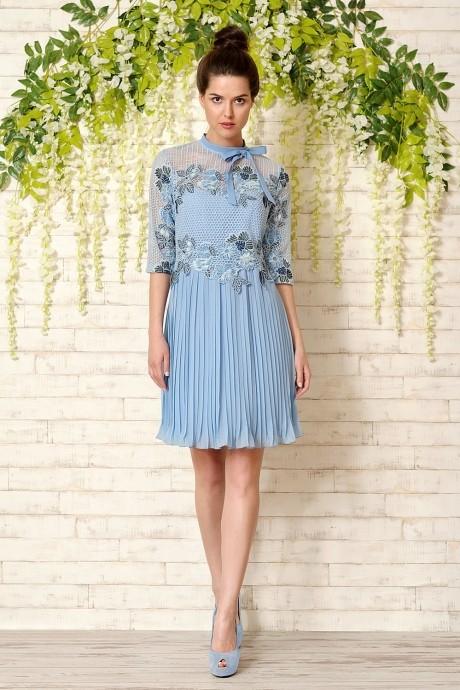Летнее платье Prestige 2814 голубой