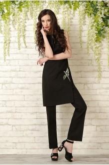 Брючный костюм /комплект Prestige 2836 черный фото 2