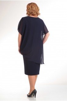 Вечернее платье Прити 393 темно-синий фото 2