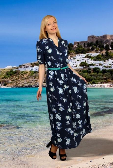 Длинное платье МиА-Мода 703-6