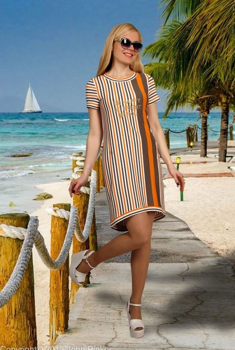 Летнее платье МиА-Мода 717-1