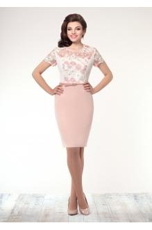 Летнее платье Галеан-стиль 501 розовый фото 1