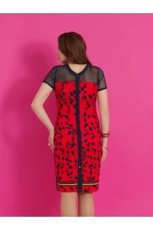 Повседневное платье Lissana 2861 бирюза/синий фото 2