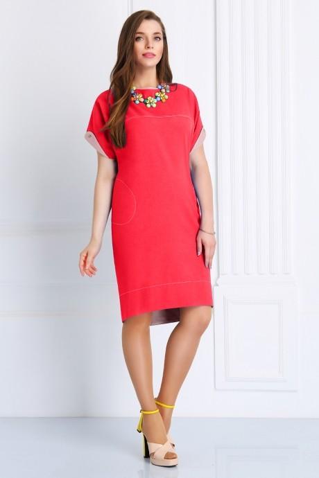 Повседневное платье Matini 3.988 малиновый