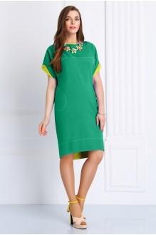 Повседневное платье Matini 3.988 бирюза фото 1
