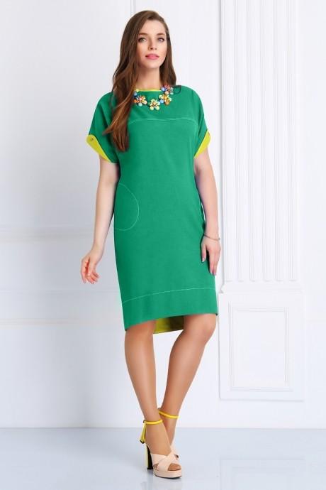 Повседневное платье Matini 3.988 бирюза