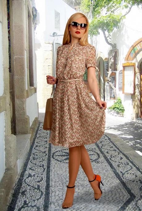 Повседневное платье МиА-Мода 694-5