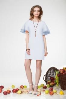 Летнее платье LeNata 11681 голубой фото 1