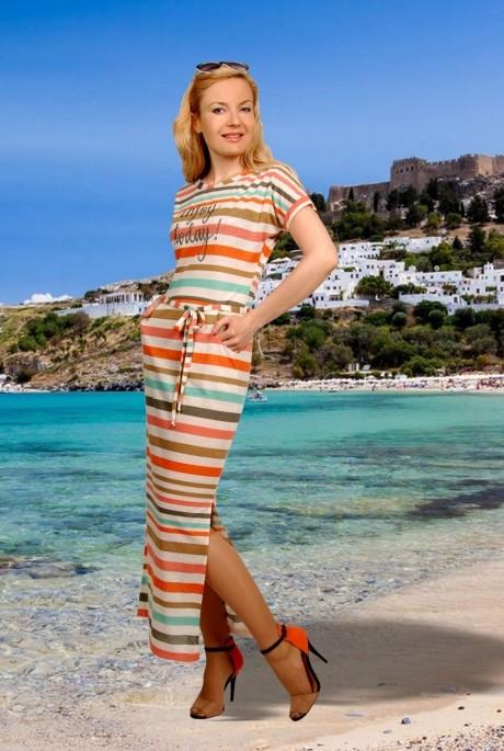 Длинное платье МиА-Мода 716-4