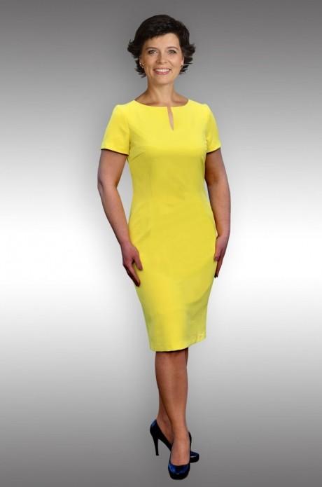Повседневные платья Таир-Гранд 6523 лимон